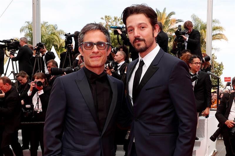 Gael García y Diego Luna en el Festival de Cannes