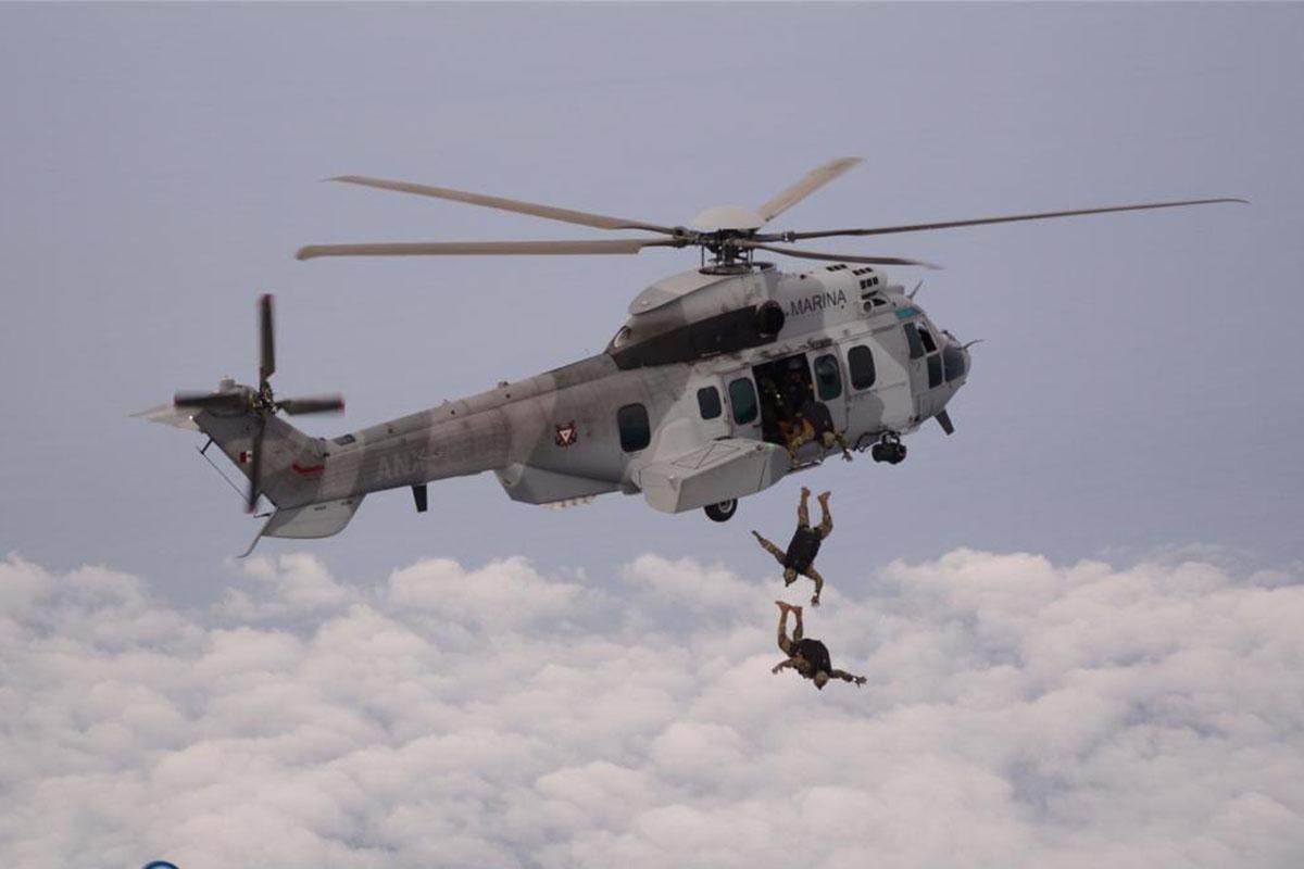 helicóptero, combustible, Secretaría de Marina, Semar, capitán Miguel Ángel Ramos Machorro,