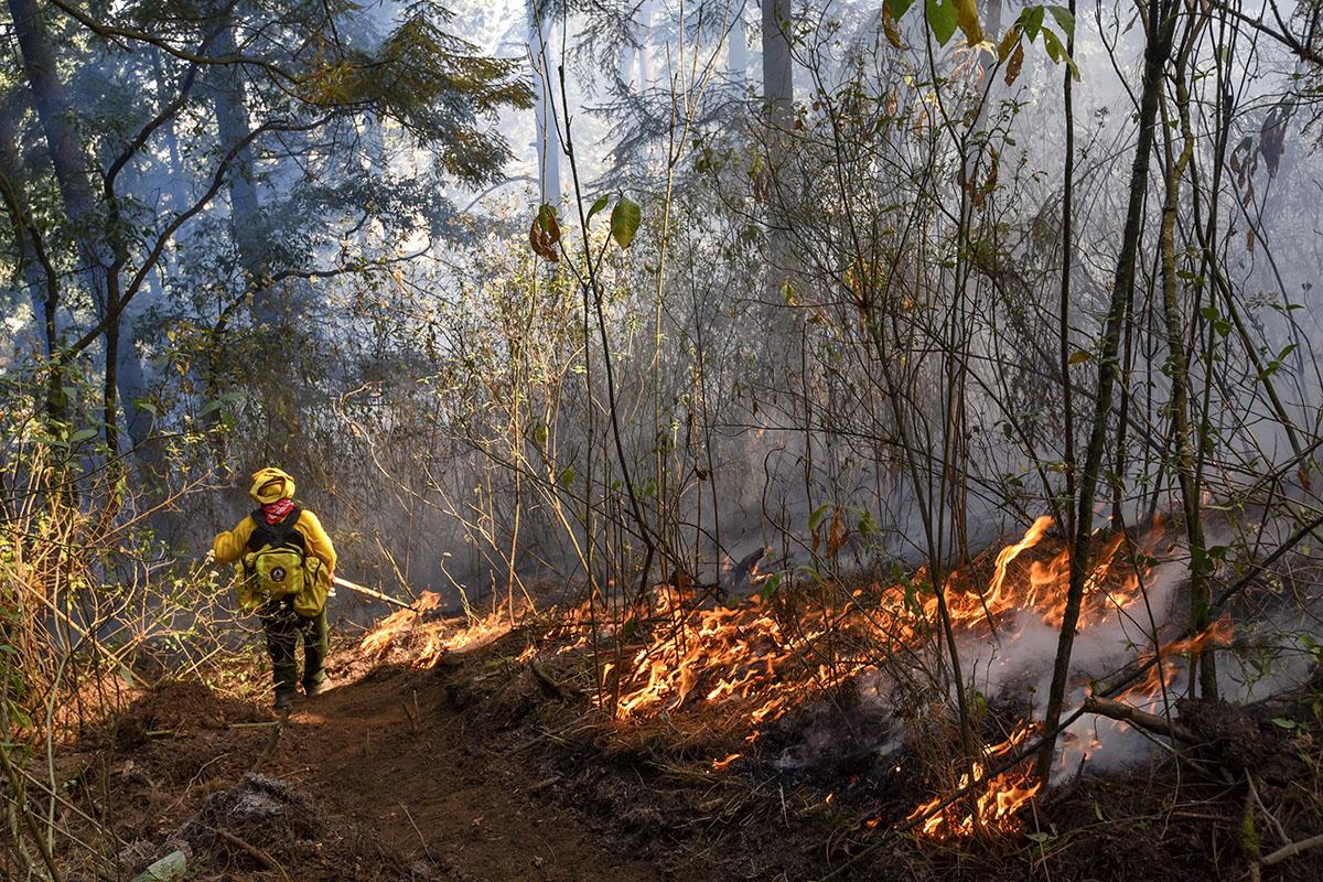 Incendios, contingencia ambiental, contaminación, enfermedades respiratorias,