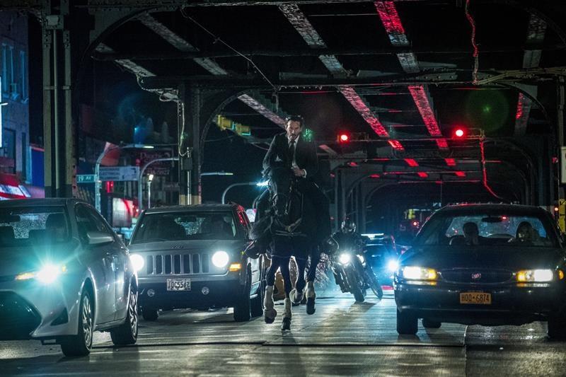 "Escena de la película ""John Wick 3"""