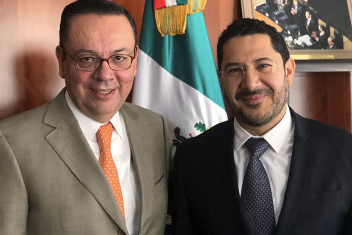 Germán Martínez, Senado, IMSS, Martí Batres, Zoe Robledo,