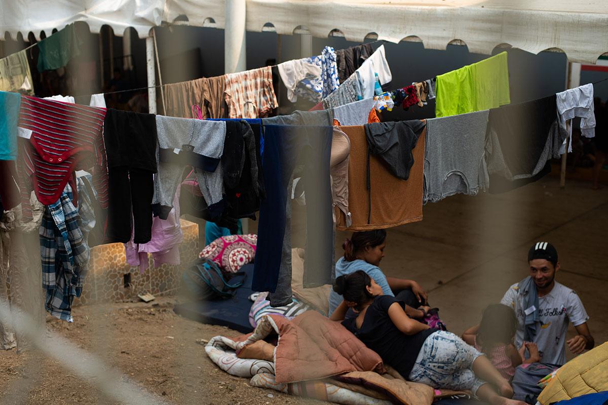Inmigrantes, Migrantes, Caravana, albergues, Frontera, Estados Unidos,
