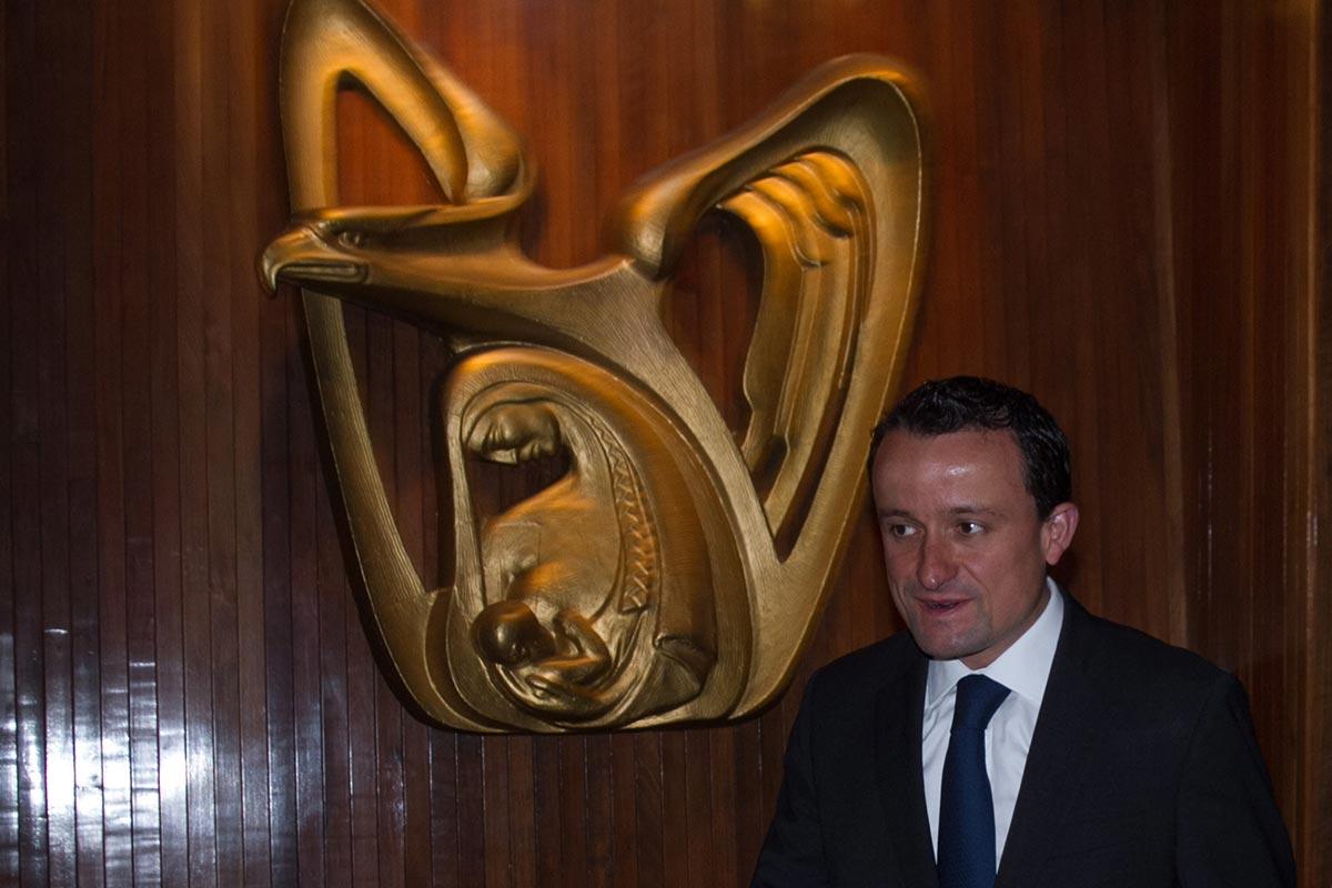 Mikel Arriola, IMSS, Germán Martínez