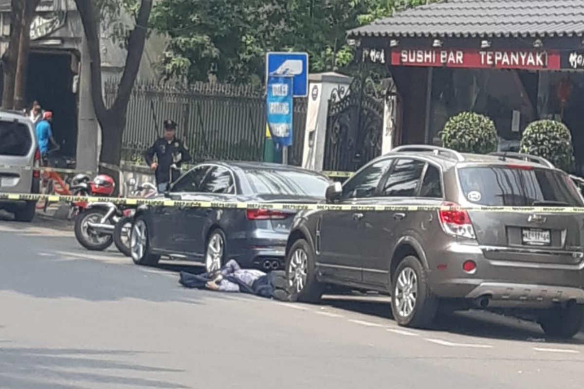 El cuerpo quedo tendido en el asfalto (Israel Lorenzana/Siete24)