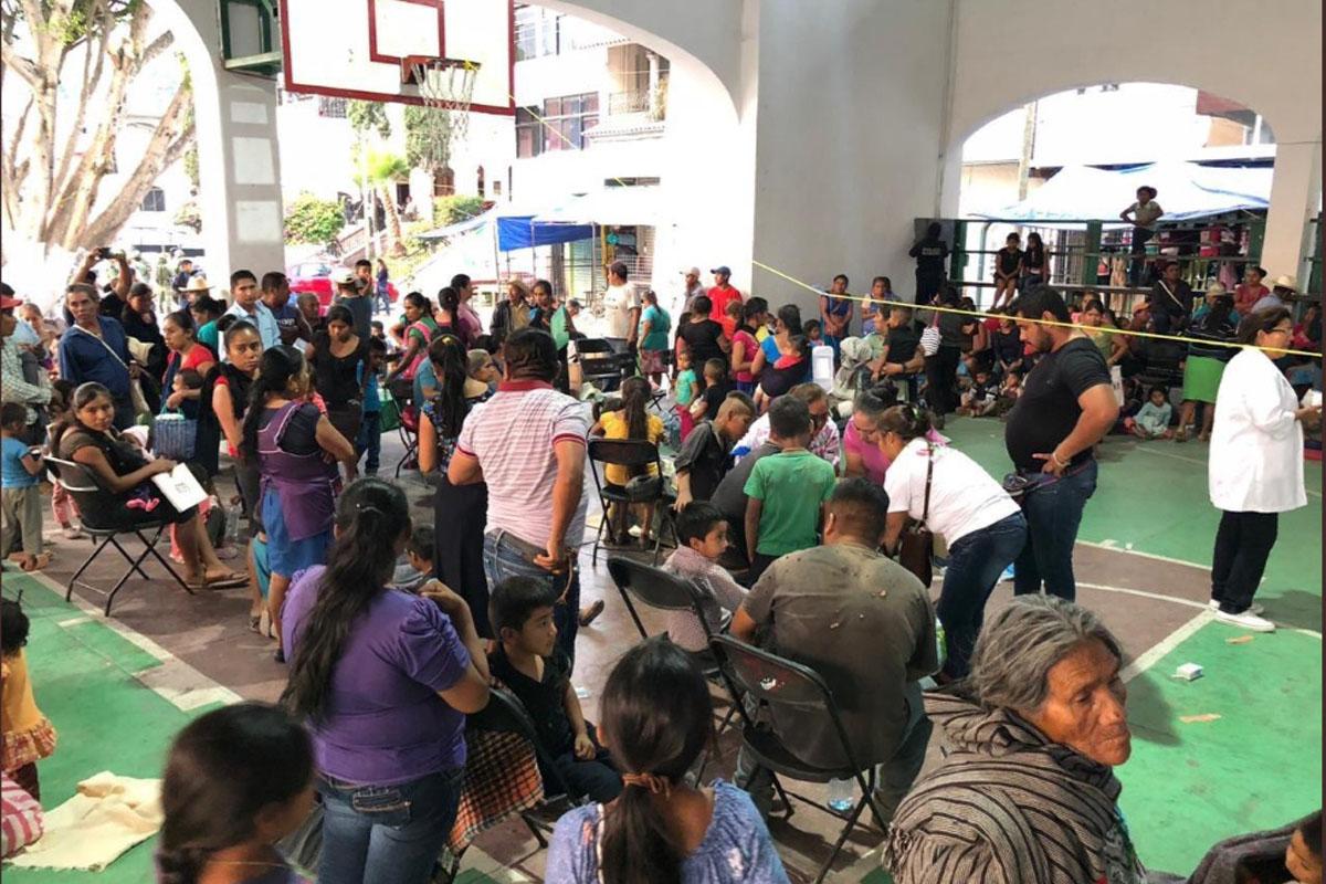 Intoxicación, Niños, Guerrero, Chilapa, Pozole, Día del Niño,