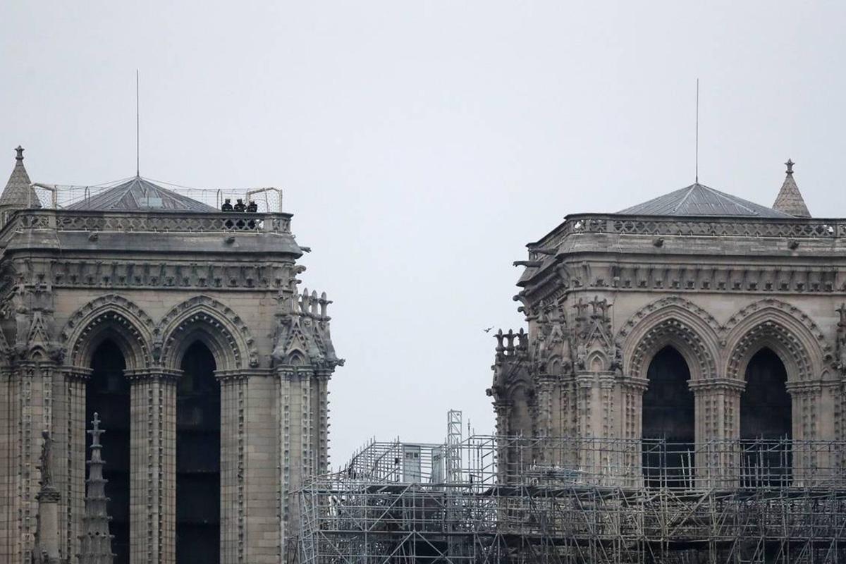 Notre Dame, Catedral, París, incendio, Plomo,