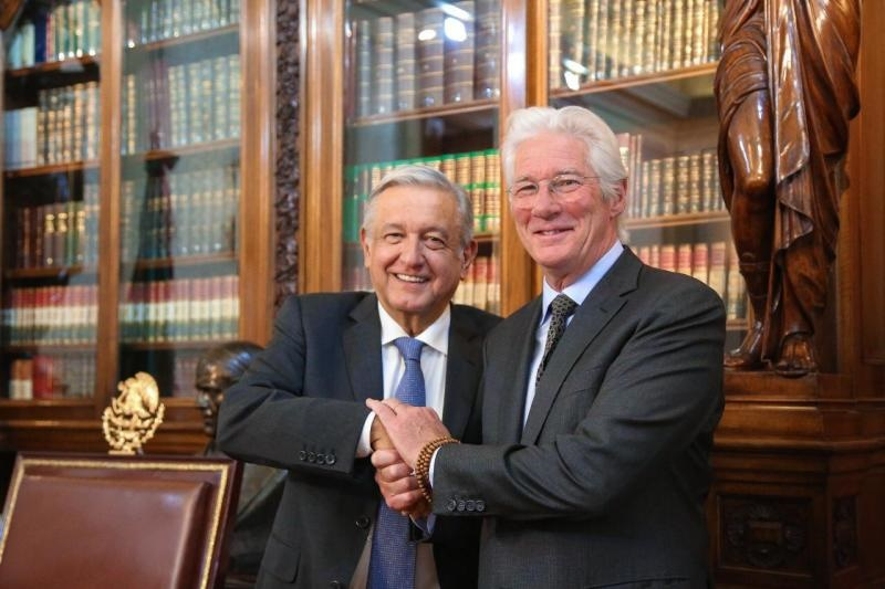 Richard Gere López Obrador