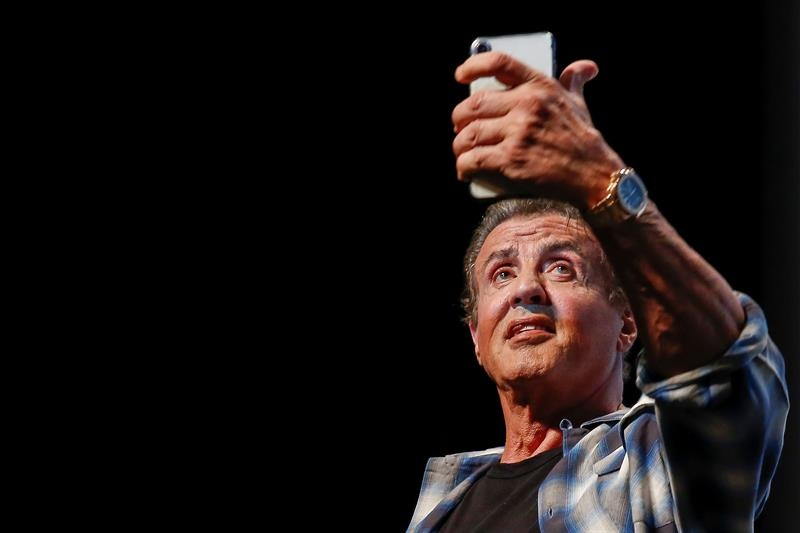 Sylvester Stallone en Cannes