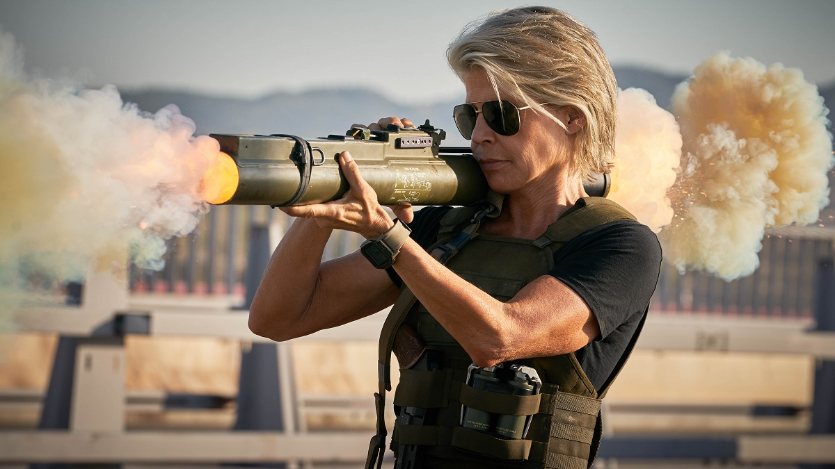 "Linda Hamilton regresa como Sarah Connor en ""Terminator: Dark fate""/Foto: Cortesía 20th Century Fox Mx"