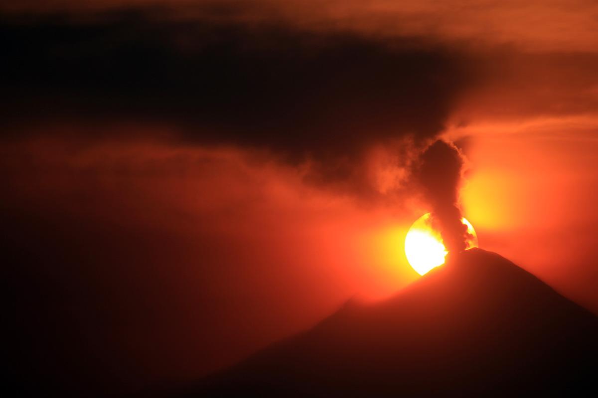 Volcán, Popocatépetl, alerta, semáforo, Amarillo Fase 2,