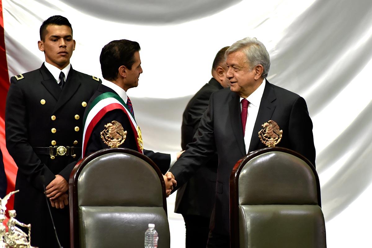 AMLO, EPN, expresidentes