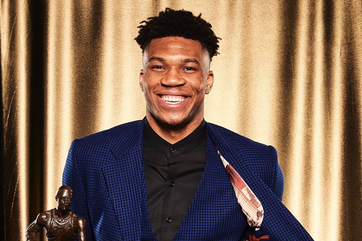 Antetokounmpo se llevó el MVP de la NBA. Foto: NBA