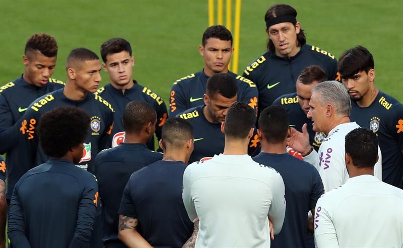 Brasil, la plantilla más cara de la Copa América. Foto: EFE
