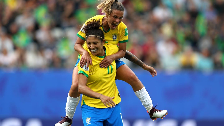 Brasil se impuso a Jamaica. Foto: FIFA