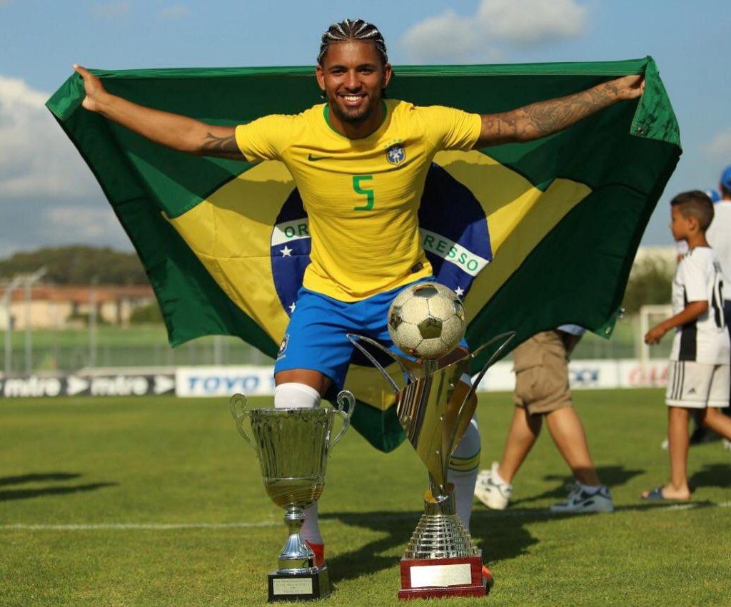Brasil conquistó el título del torneo Maurice Revello. Foto: Twitter