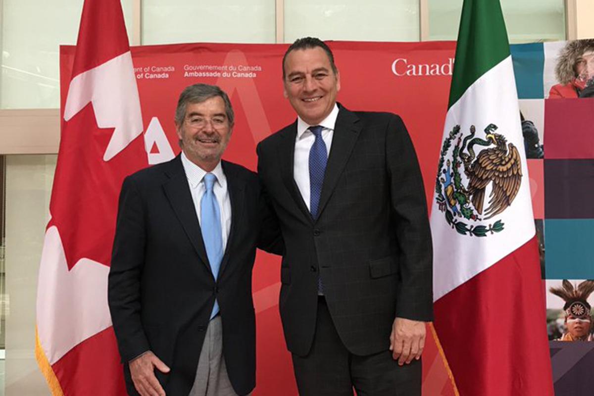 Embajador de Canadá en México, Pierre Alarie, CFE, Comisión Federal de Electricidad,