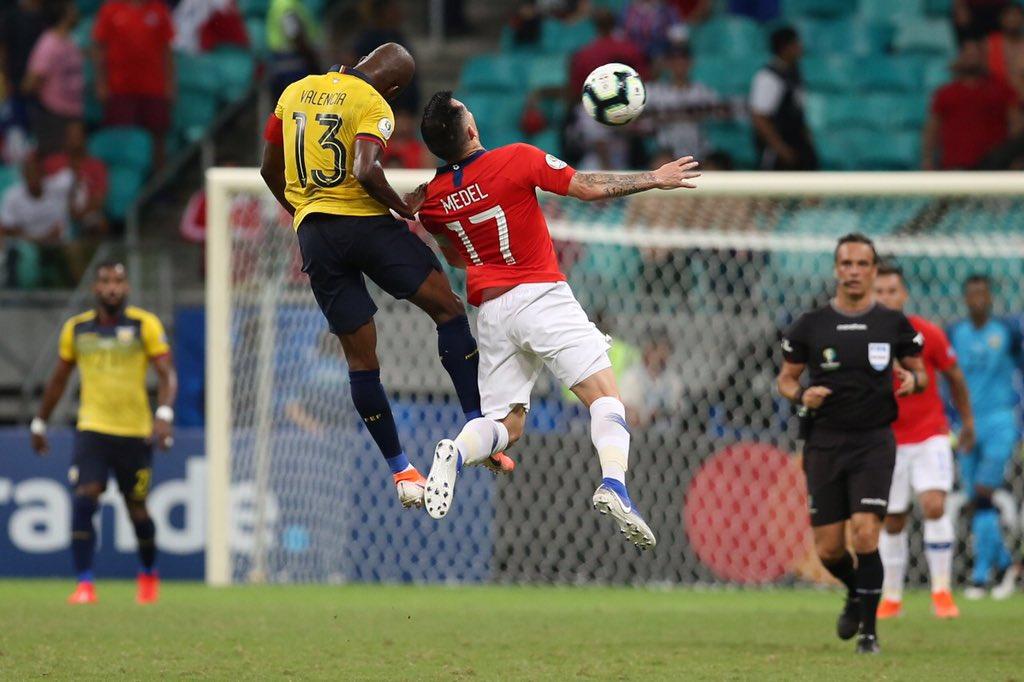 Chile dio cuenta de Ecuador. Foto: Twitter