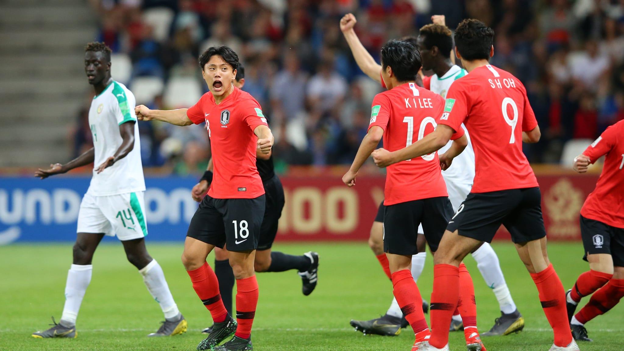 Corea del Sur y Ecuador se medirán en semifinales. Foto: FIFA
