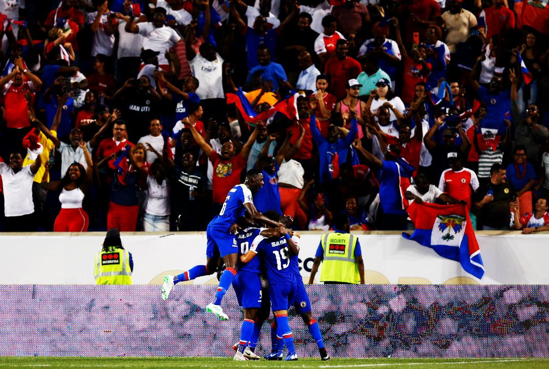 Haití le pegó a Costa Rica. Foto: Twitter