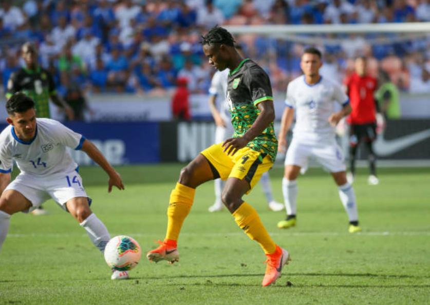 El Salvador igualó con Jamaica. Foto: Twitter