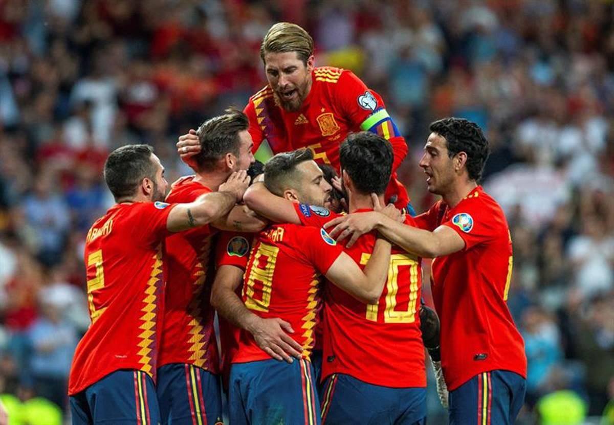 España se acerca a la Eurocopa 2020. Foto: EFE