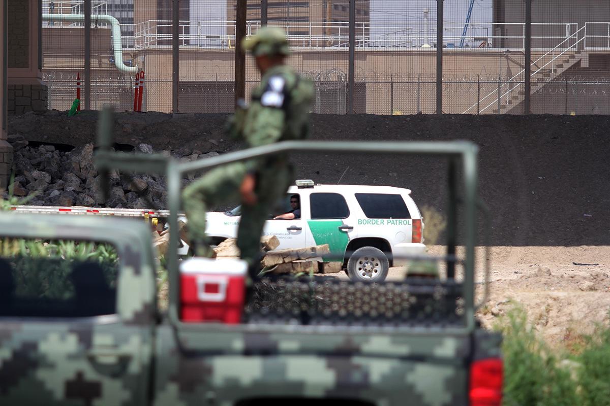 Migrantes, indocumentados, Estados Unidos, Frontera, río bravo, Guardia Nacional, Patrulla Fronteriza,