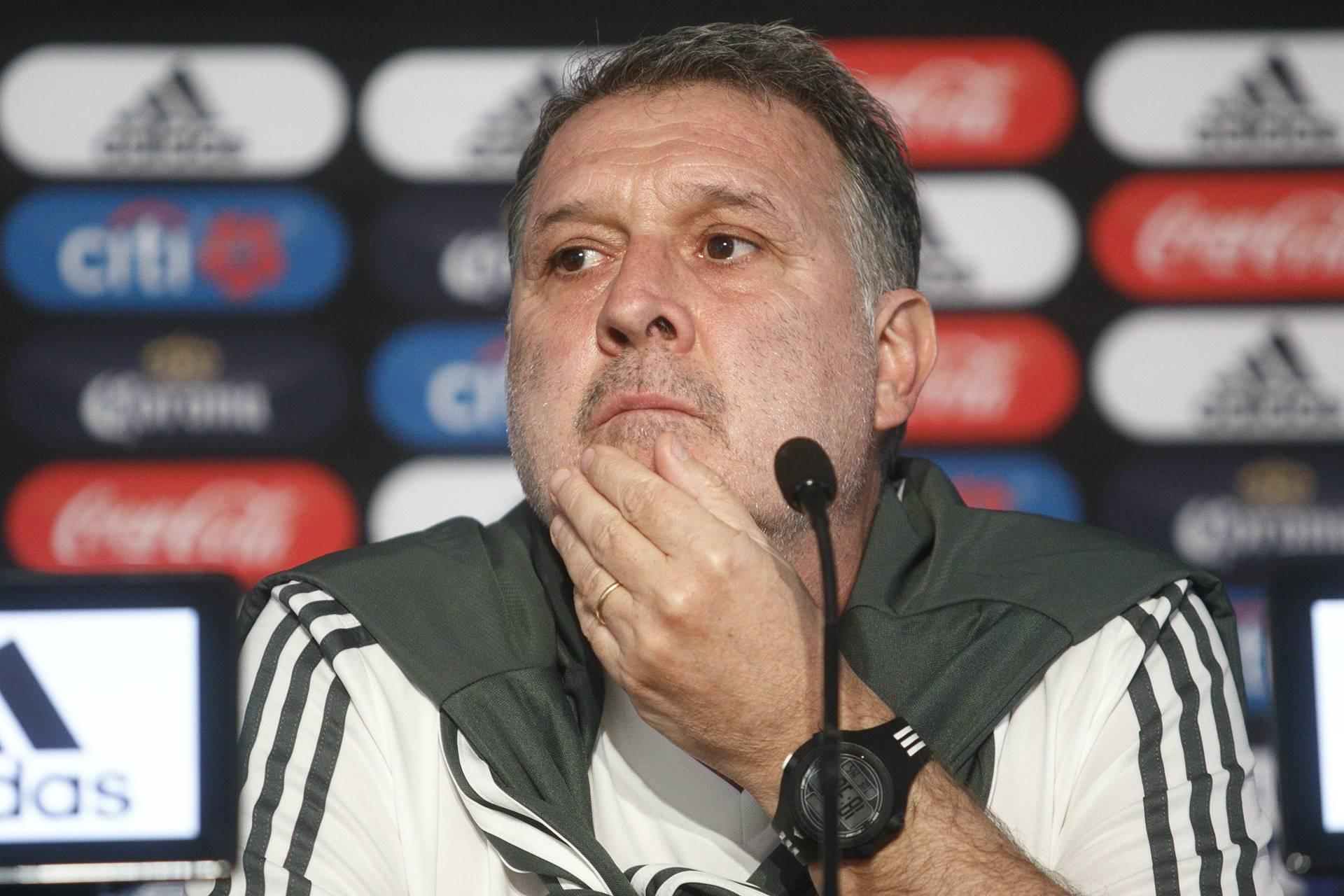 'Tata' Martino no se queja tras ausencias. Foto: Cuartoscuro
