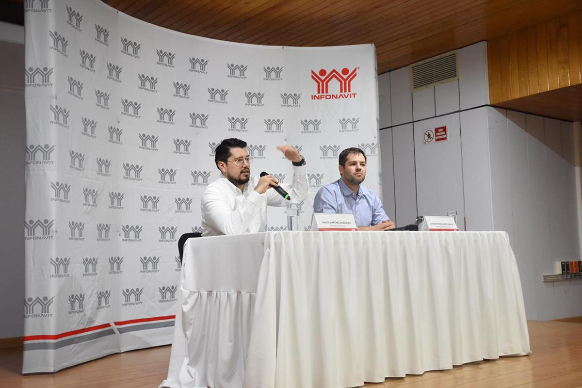 Infonavit, Carlos Martínez Velázquez, créditos, dispositivos móviles,