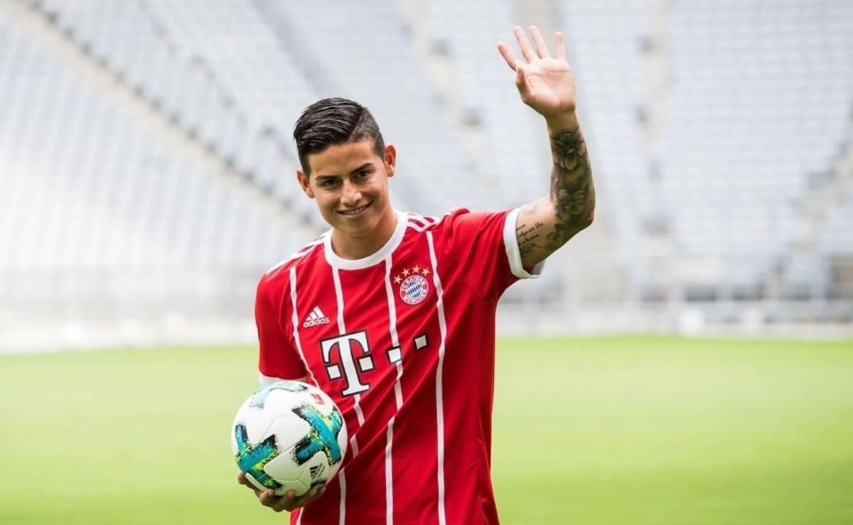 James Rodríguez no entra en planes del Bayern Münich. Foto: EFE