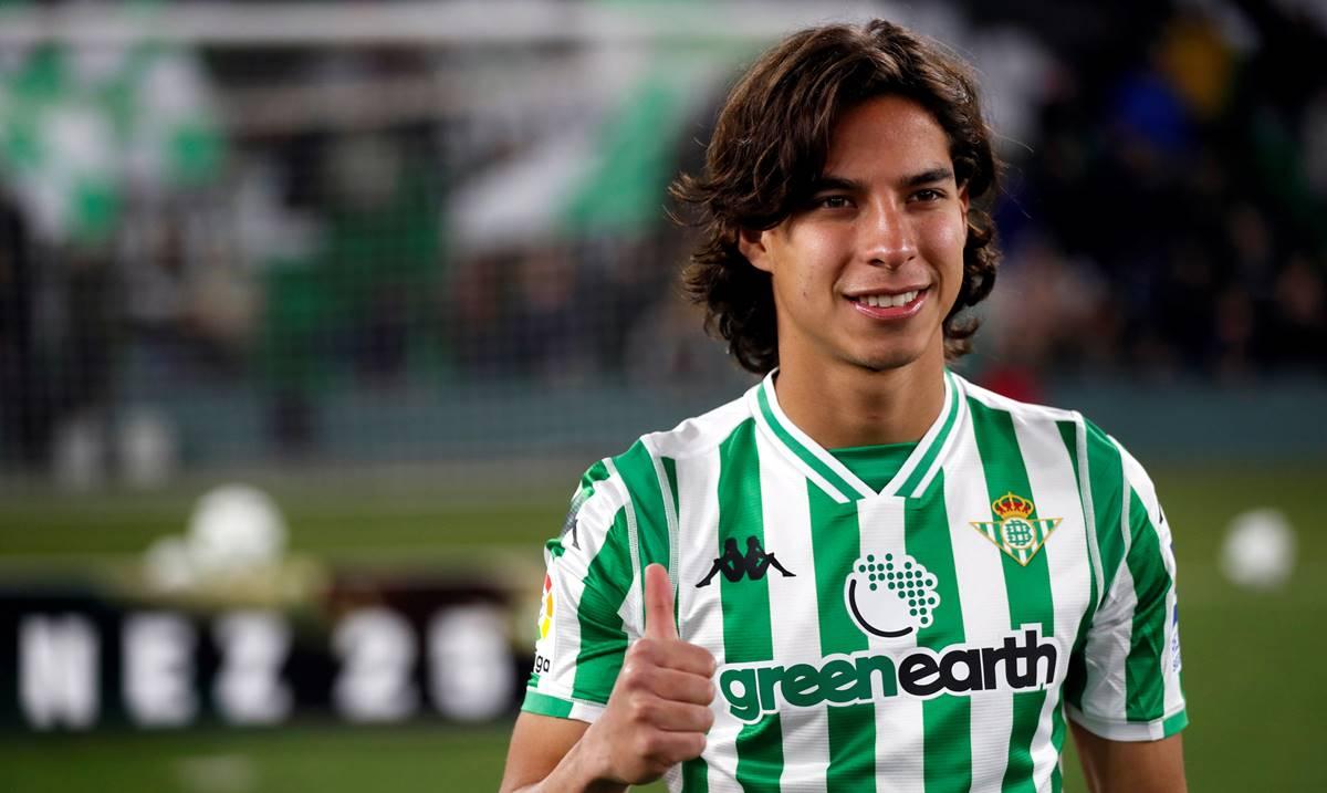 Diego Lainez sin posibilidades de regresar al América. Foto: Twitter LaLiga