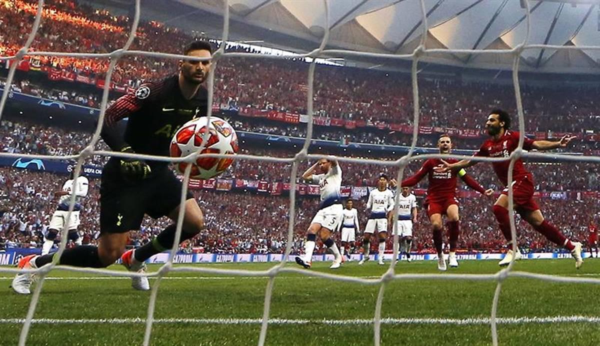 Liverpool conquistó el título de la Liga de Campeones de Europa. Foto. EFE