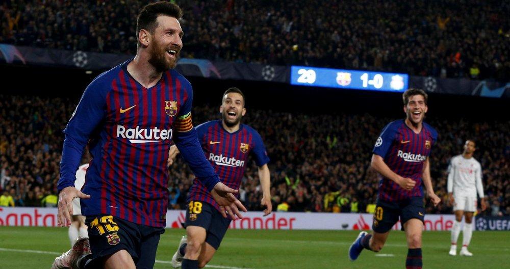 Messi se lleva el galardón en Champions. EFE