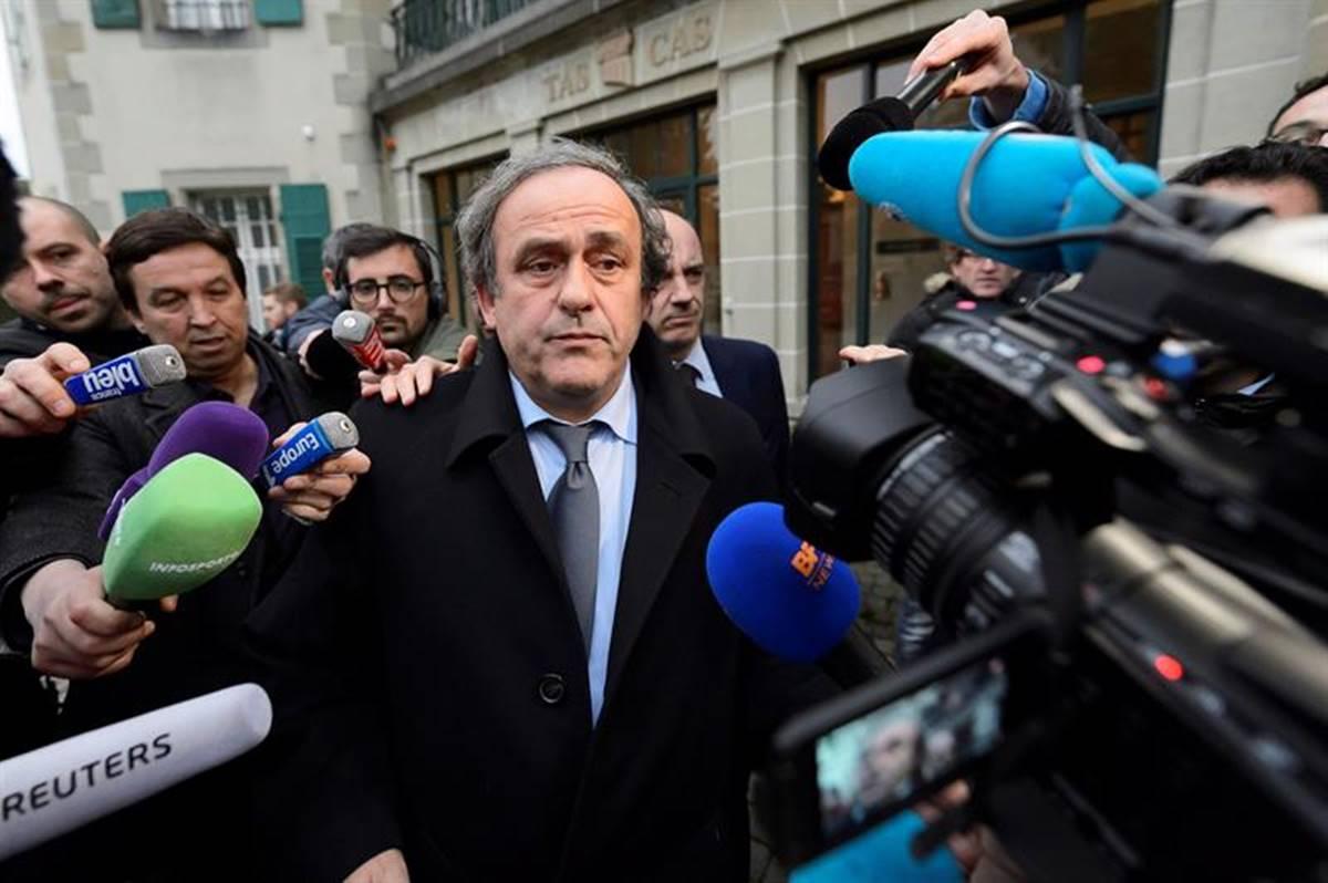Michel Platini es acusado de actos de corrupción. Foto: EFE