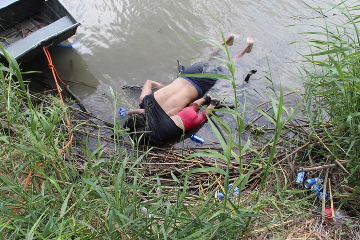 Migrante, Río Bravo, El Salvador, Óscar Alberto Martínez Ramírez, Valeria, Donald Trump,