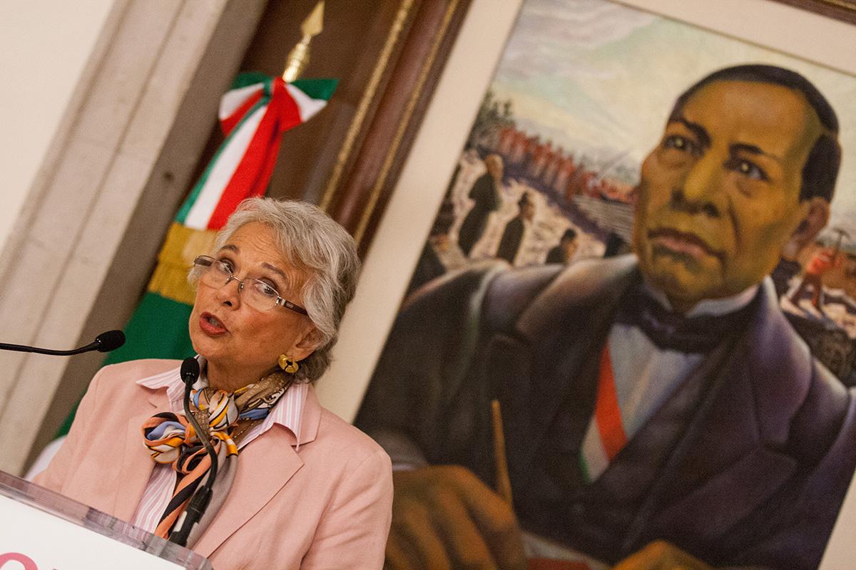 Olga Sánchez Cordero, Segob, Derechos Humanos, crisis,