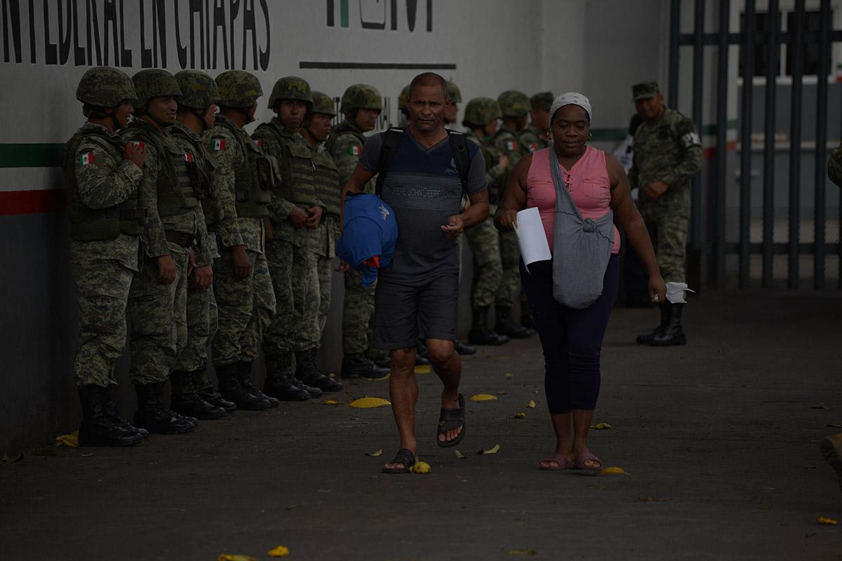 Frontera, migrantes, Instituto Nacional de Migración, Olga Sánchez Cordero, Honduras,