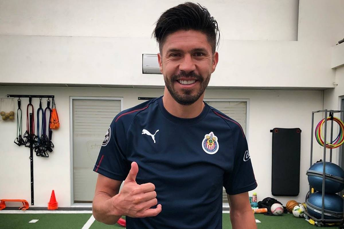 Oribe Peralta aprobó los exámenes médicos. Foto: Twitter