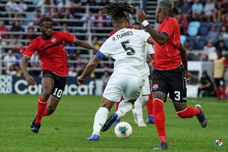 Panamá le pegó a Trinidad y Tobago. Twitter