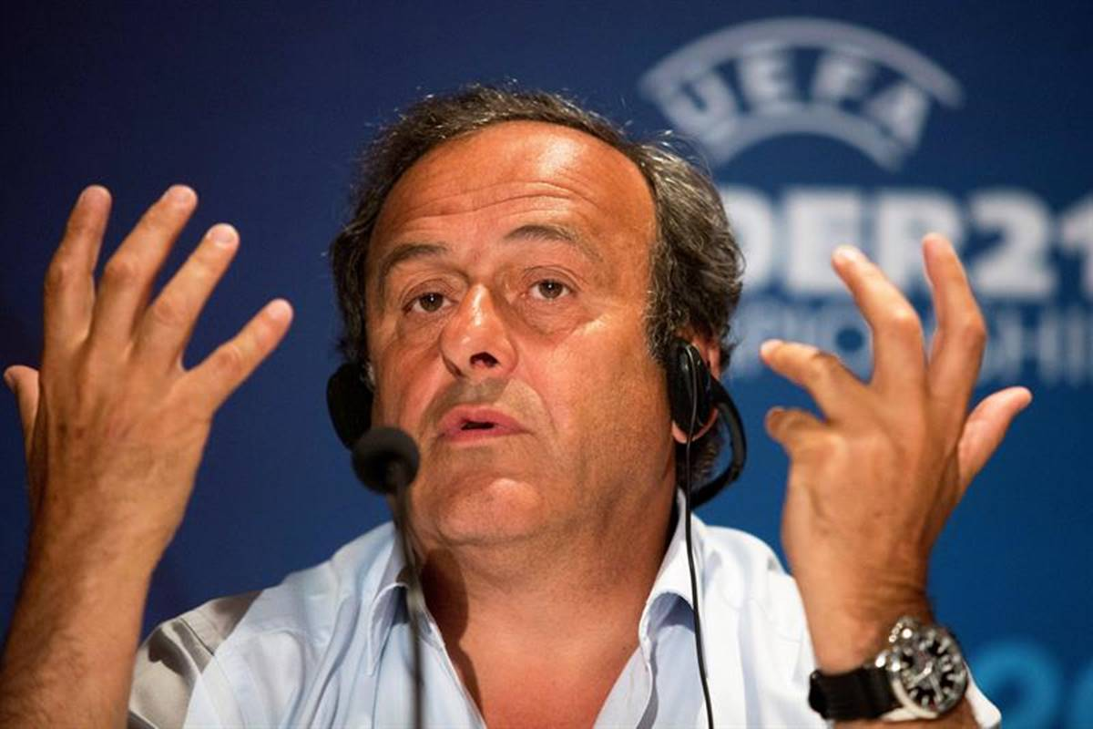 Michel Platini fue liberado. Foto: EFE