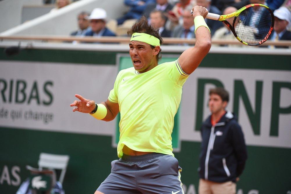 Rafael Nadal vapuleó a Roger Federer. Foto: Twitter Roland Garros