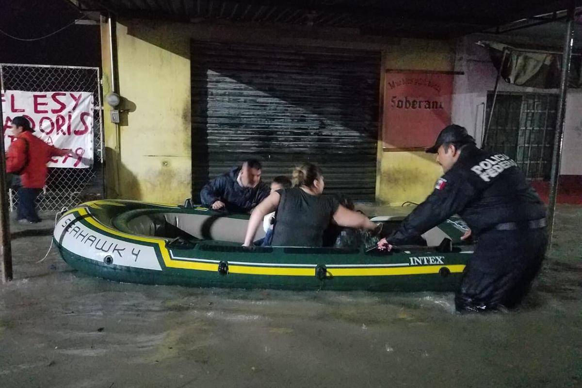 Tromba, Reynosa, Tamaulipas, agua, lluvias, inundaciones,