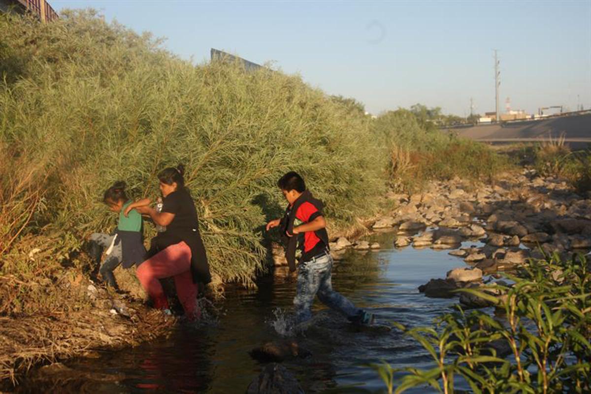 Migrantes, Río Bravo, Frontera, Estados Unidos, Óscar Alberto Martínez Ramírez, Valeria,