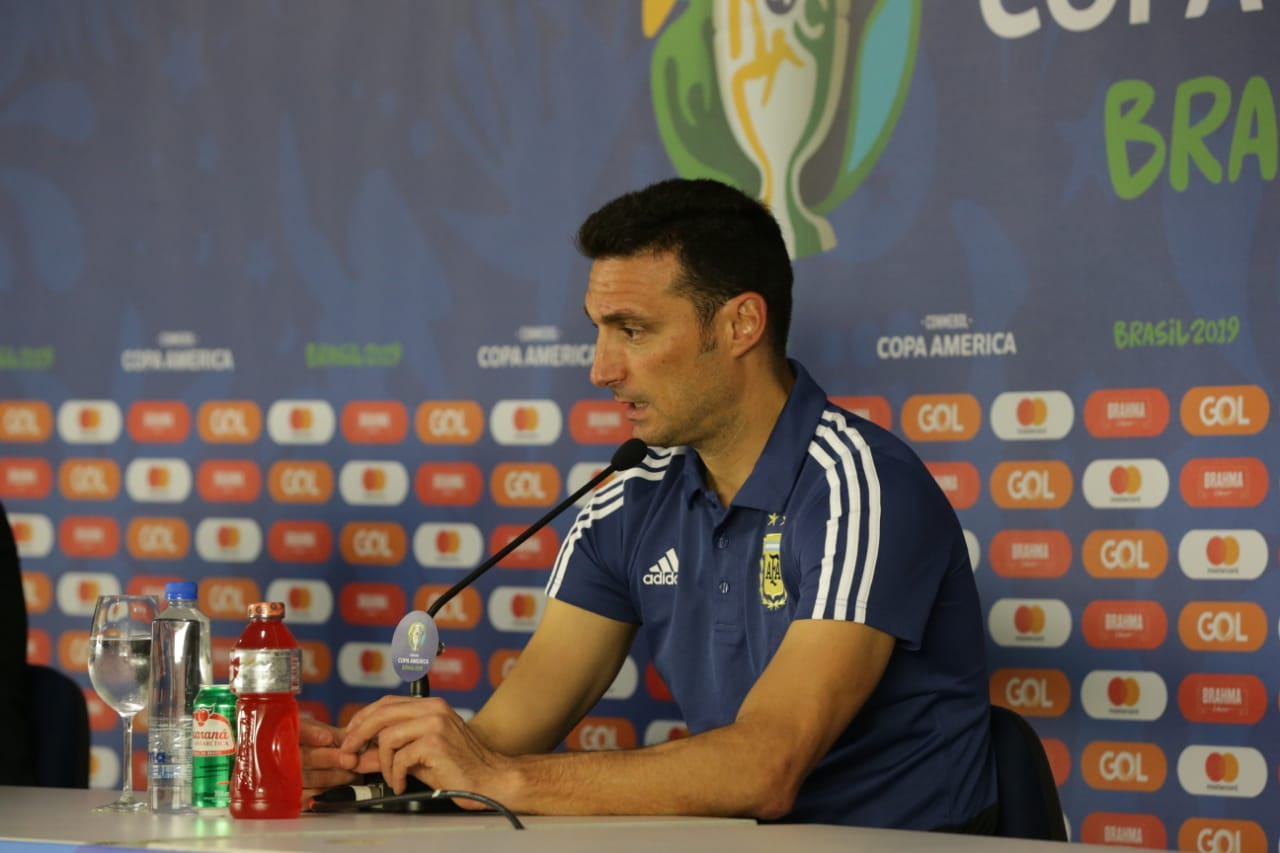 Scaloni aceptó superioridad de Argentina. Foto: Twitter