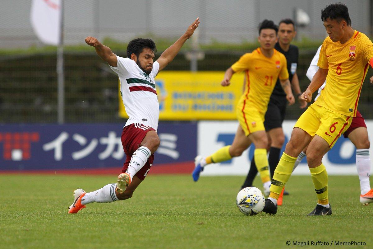 Selección Mexicana se impuso a China. Foto: Twitter Mi Selección