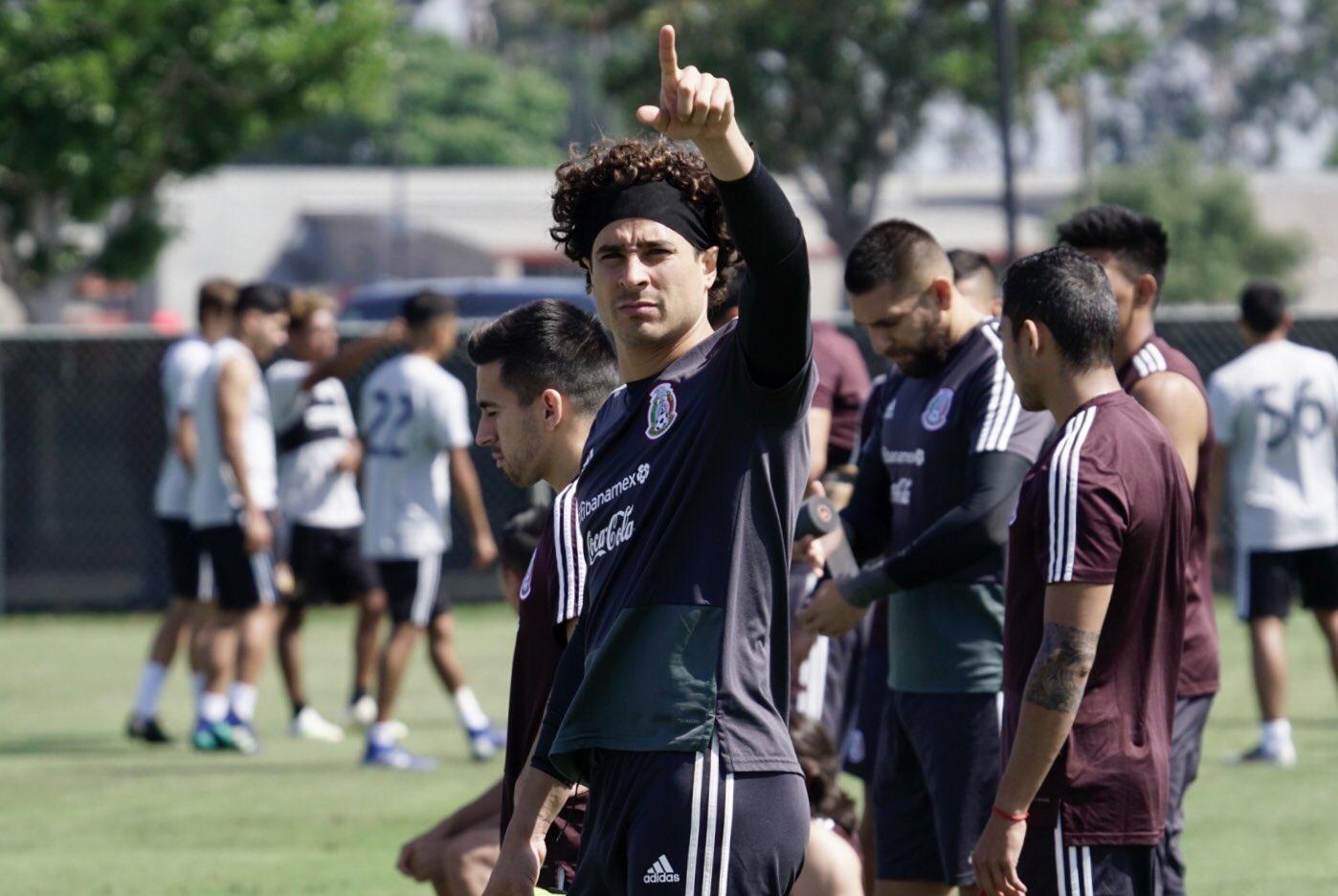 Lista la selección mexicana para encarar la Copa Oro. Foto: Twitter