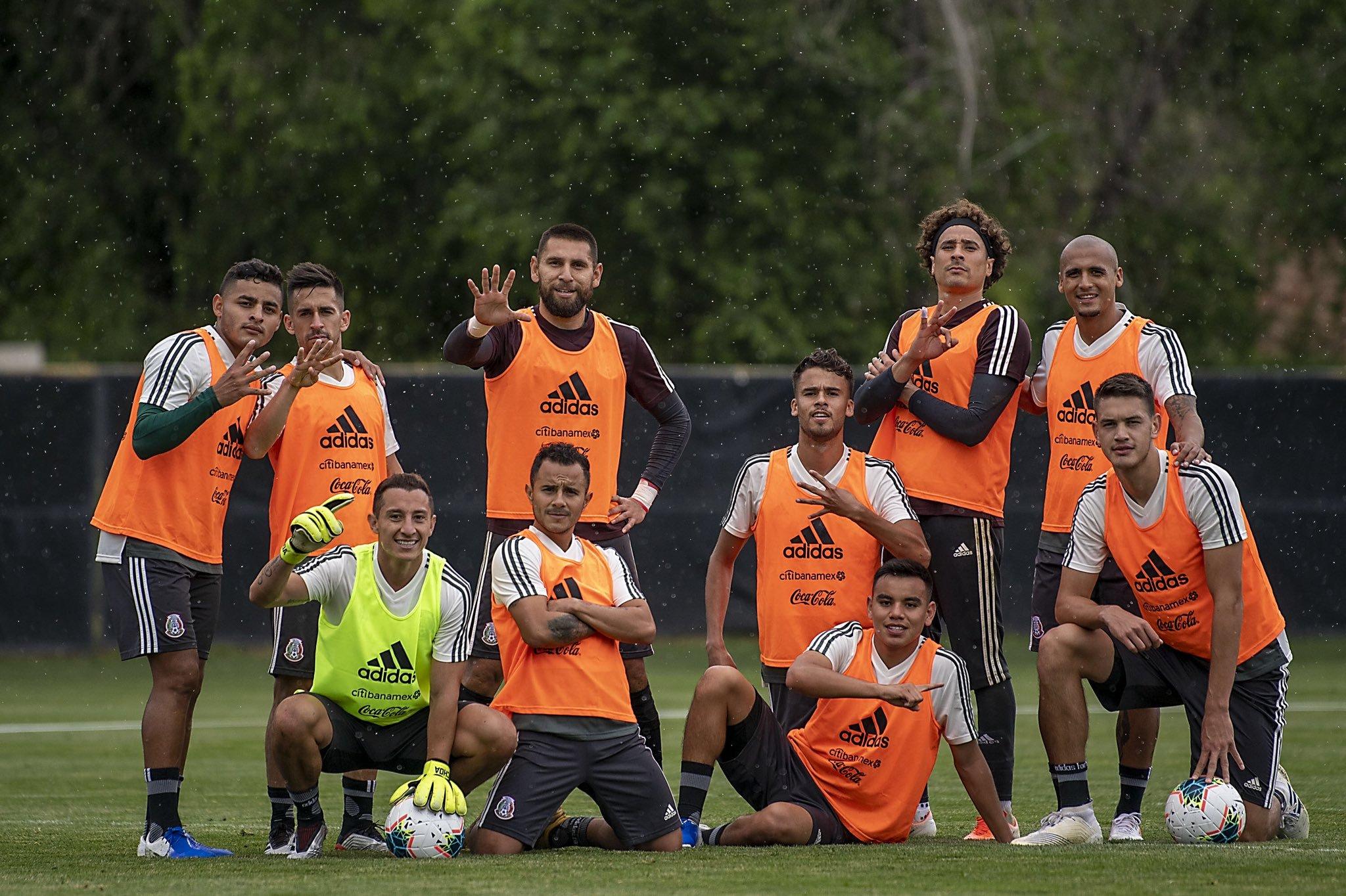 Selección Mexicana no tendrá modificaciones. Foto: Twitter
