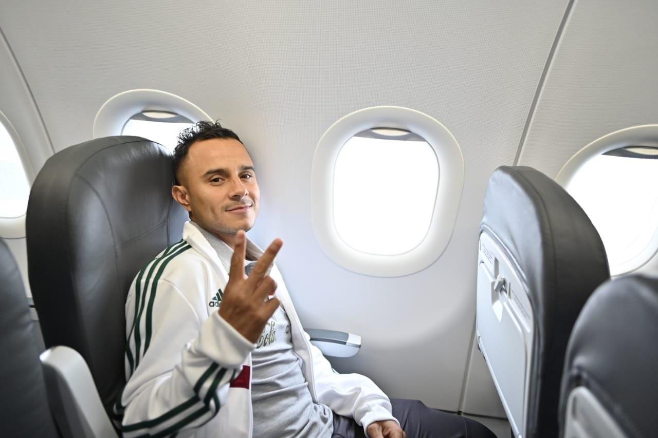 Selección mexicana llegó a Atlanta. Foto: twitter