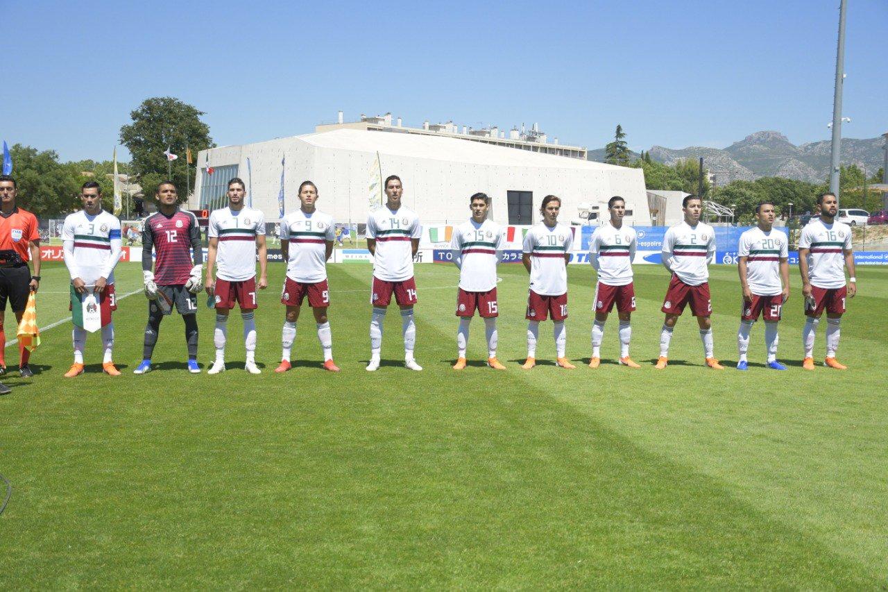 Cayó la selección mexicana en el torneo Maurice Revello. Foto: Mi Selección
