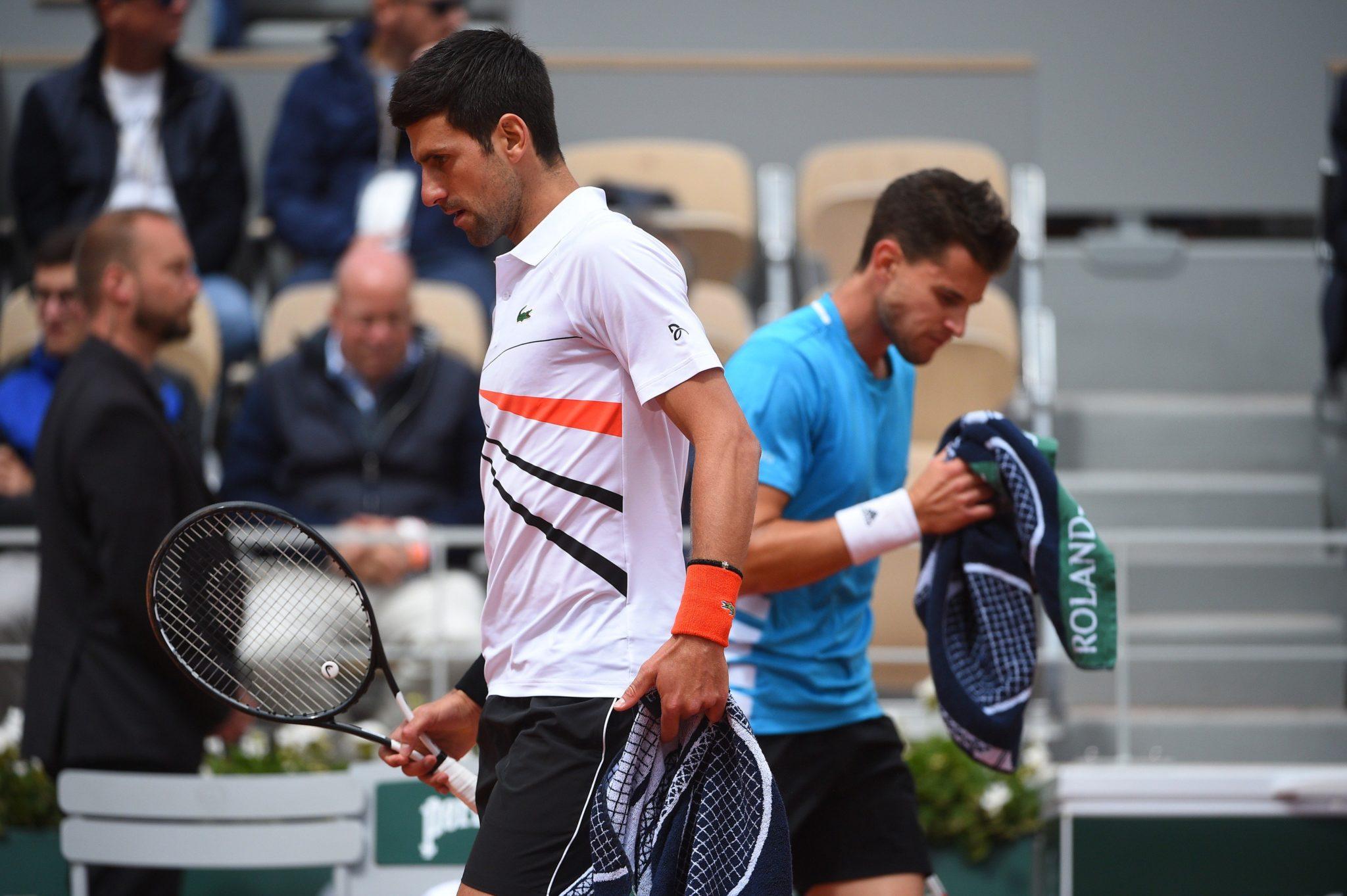 Thiem dejó fuera a Djokovic. Foto: Twitter