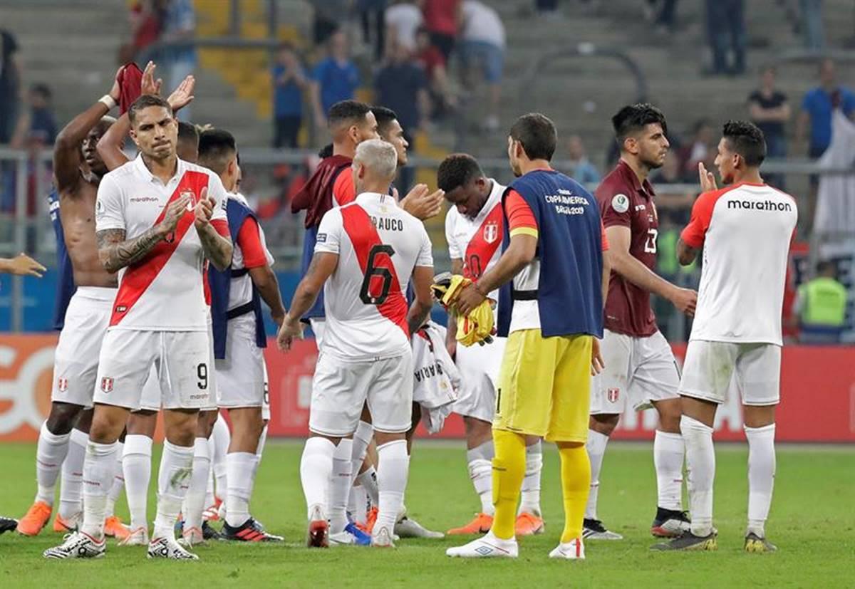 Venezuela y Perú igualaron en la Copa América. Foto: EFE